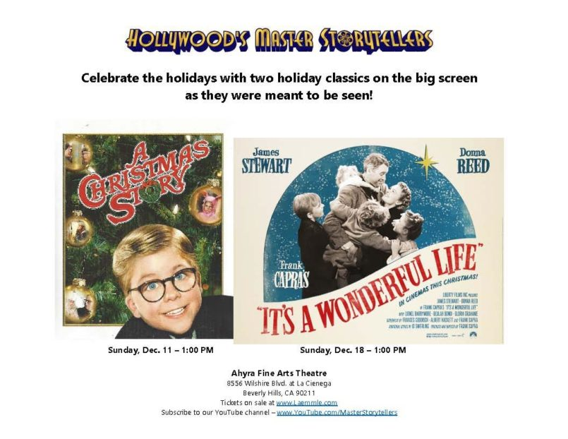 A Christmas Story with Hollywood\'s Master Storytellers - Innovative ...
